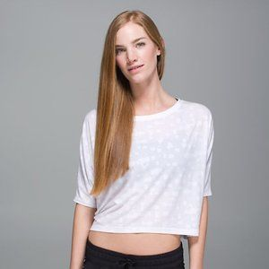 Lululemon Go Om Short Sleeve Tee